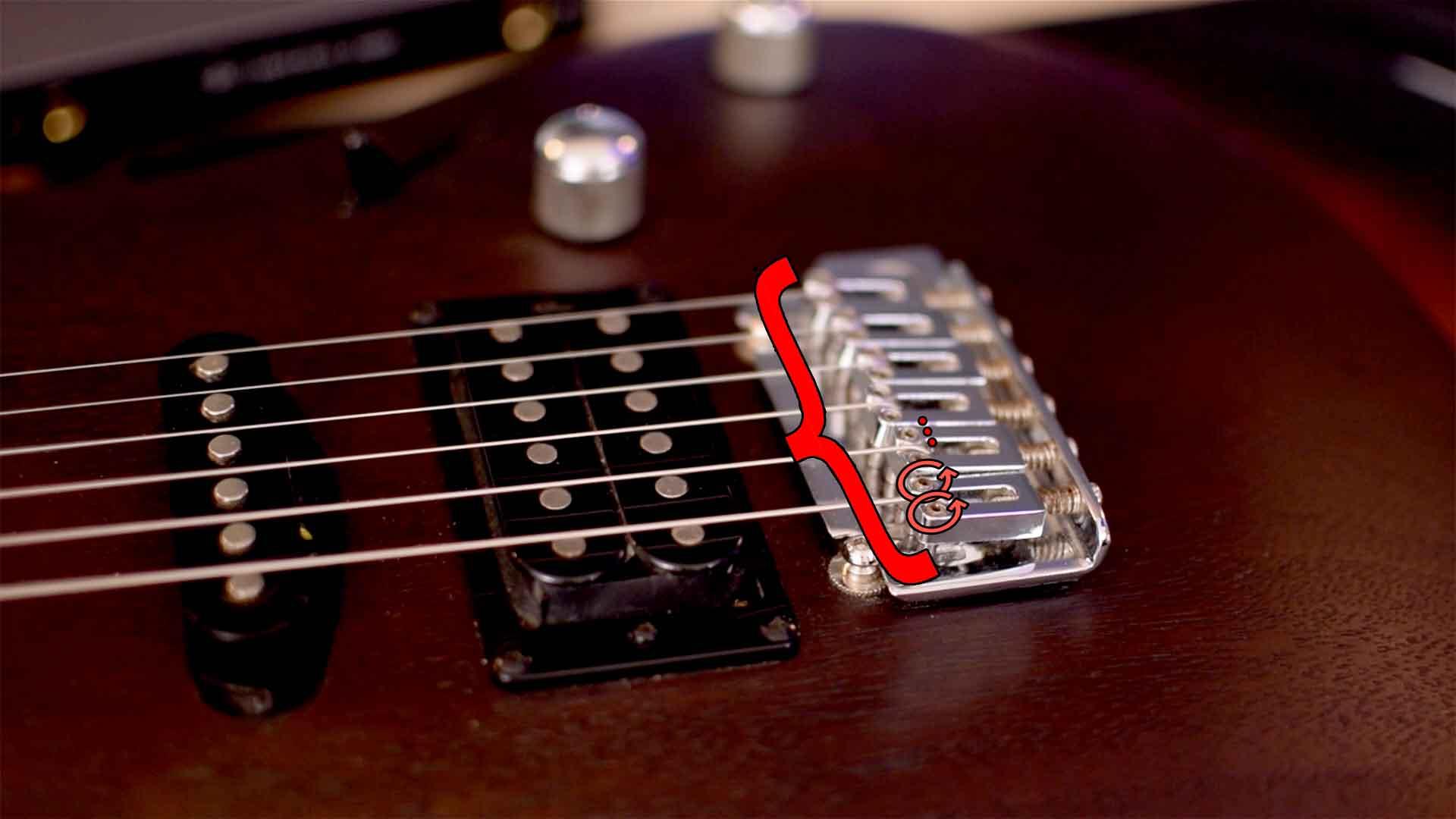 Altura de cuerdas - Guitarras baratas